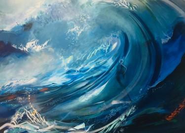 Dans les vagues